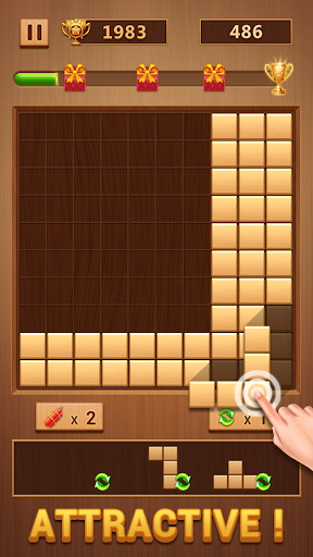 Wood Block - Classic Block Puzzle Game 1.0.7 screenshots 4