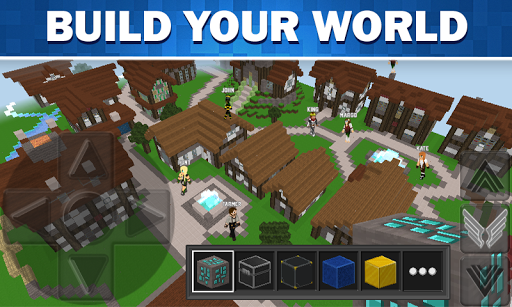 WorldCraft: 3D Build & Block Craft 3.7.1 Screenshots 1
