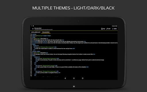 QuickEdit Text Editor - Writer & Code Editor 1.7.4 Screenshots 13