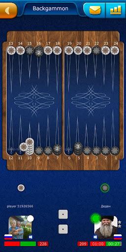 Backgammon LiveGames - live free online game 4.01 screenshots 3