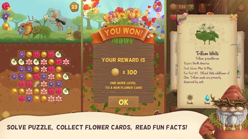 Flower Book: Match-3 Puzzle Game 1.149 screenshots 9