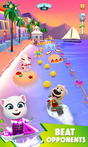 Talking Tom Jetski 2 apktreat screenshots 2