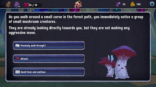 Breach Wanderers: A Roguelike Deckbuilder screenshot 5