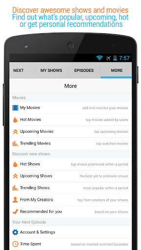 Next Episode - Track TV Shows, Movies & TV Series  screenshots 8