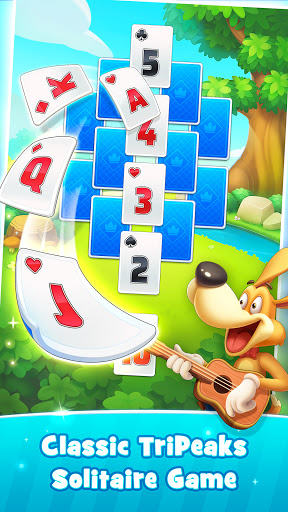 Solitaire TriPeaks Happy Land - Free Card Game  screenshots 2