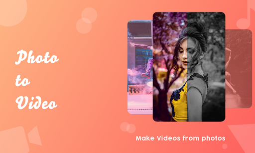 photo video maker : movie maker with music & songs screenshot 1