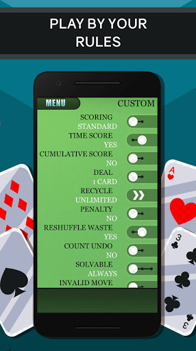 Solitaire free Card Game 2.2.2 screenshots 6