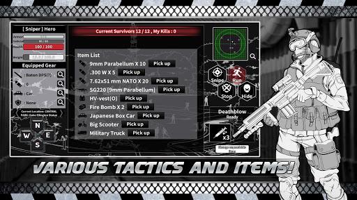 City Survival : Text Battle Royale 0.79 screenshots 2
