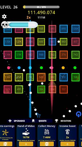 balls vs box numbers idle - bricks breaker screenshot 3