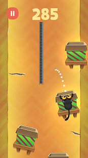 Kitty Jump! - Tap the cat! Hop it into the box! Screenshot