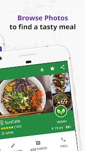 Find Vegan Restaurants & Vegetarian Food- HappyCow 62.0.71-free-v2 Screenshots 5