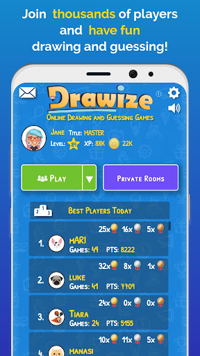Drawize - Draw and Guess  screenshots 1