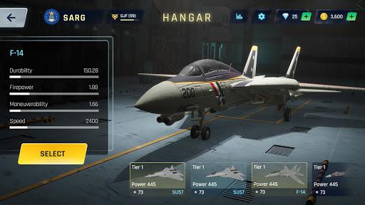 Sky Warriors: Airplane Combat  screenshots 11