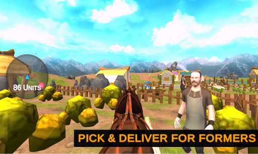 Horse Cart Offroad Farming Transport Simulator 1.2 screenshots 4
