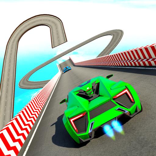 Mega Ramps Stunt Games : Ramp Car Driving Games