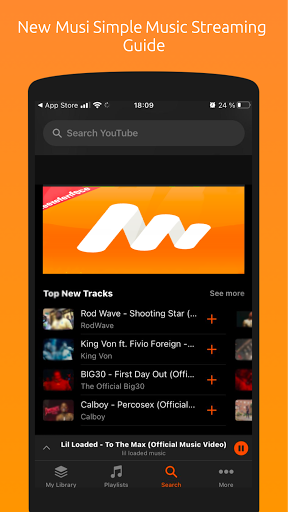 Reference Musi Simple Music Streaming App 2020 Download Apk Free For Android Apktume Com