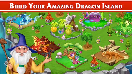 Dragon Paradise City: Breeding War Game apkmartins screenshots 1