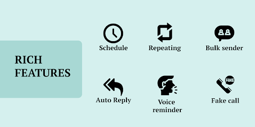 Do It Later - Schedule SMS, Auto Reply Text, Whats screen 1