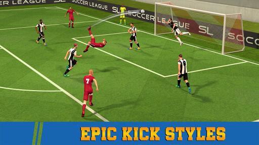 Soccer League Season 2021: Mayhem Football Games  screenshots 1