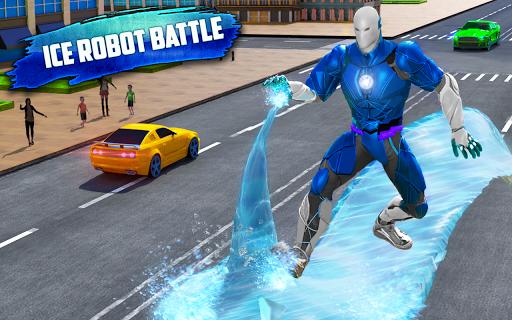 Flying Police Robot Snow Storm Hero: Crime City 6.0.0 Screenshots 4