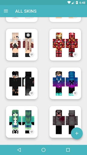 HD Skins for Minecraft PE (128x128) android2mod screenshots 9