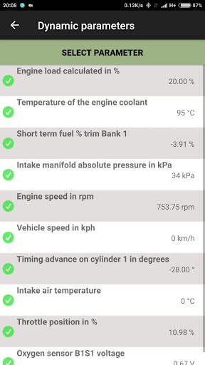 Car Computer - Olivia Drive   ELM327 OBD2 20.115 Screenshots 2