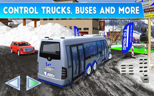 Winter Ski Park: Snow Driver 1.0.3 screenshots 16