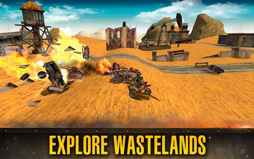 Dead Paradise: Car Shooter & Action Game 1.7 screenshots 2