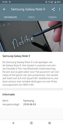DroidApp - Android nieuws  Screenshots 4