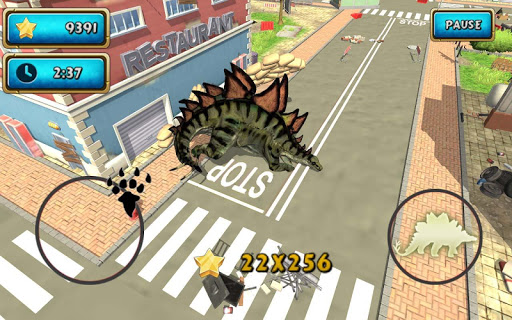 Dinosaur Simulator 2 Dino City  screenshots 19