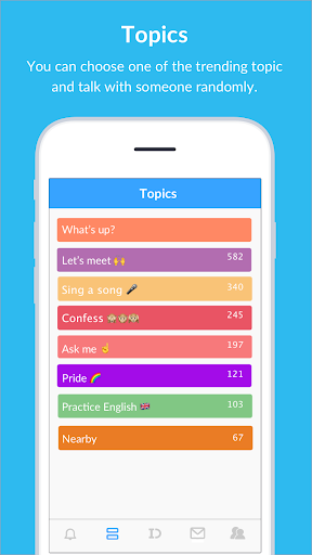 BlindID: Find Friends, Meet New People, Chat android2mod screenshots 3