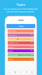 BlindID: Find Friends, Meet New People, Chat Screenshot