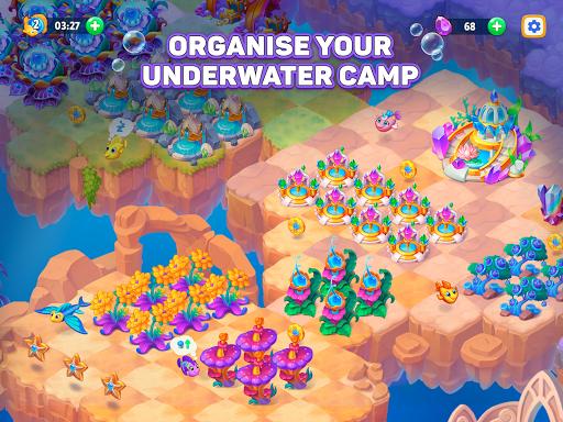 Sea Merge! Fish Games in Aquarium & Ocean Puzzle  screenshots 12