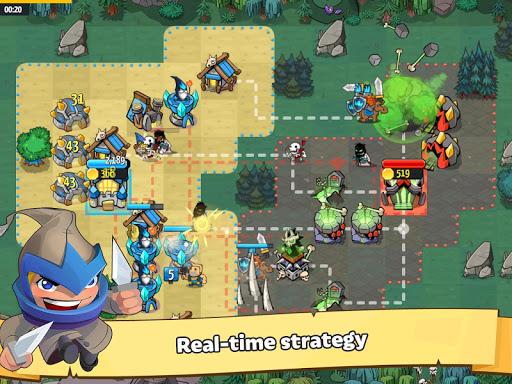 Like a King RTS: 1v1 Strategy screenshots 17
