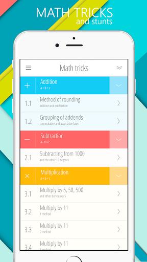 Math games, Mathematics 5.2.0 screenshots 15