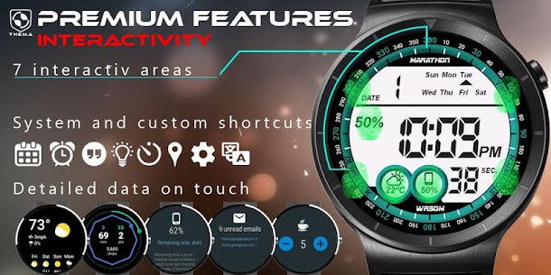 Digital One Watch Face Apk [Paid] Download for Android 5