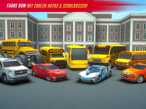 Super High School Bus Simulator und Auto Spiele 3D 2.7 screenshots 20