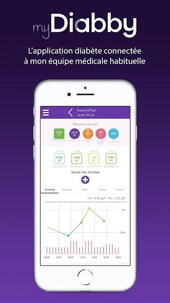 myDiabby Android App Screenshot