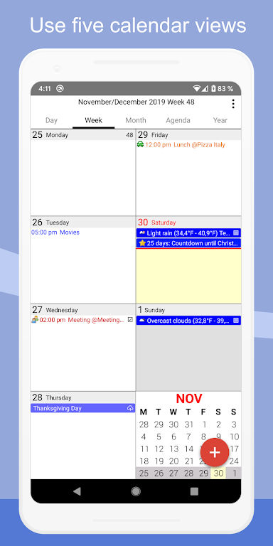 CalenGoo - Calendar and Tasks  poster 5