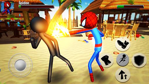 Cartoon Fighting Game 3D : Superheroes 1.5 screenshots 1