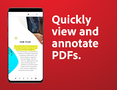 Adobe Acrobat Reader: PDF Viewer, Editor & Creator (MOD APK, Pro) v21.8.0.19312 3