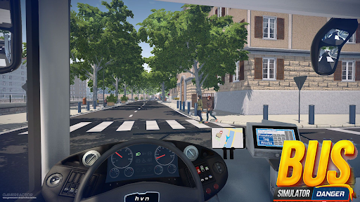 Bus Simulator : Dangerous Road screenshot 3
