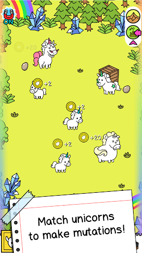 Unicorn Evolution: Fairy Tale Horse Adventure Game android2mod screenshots 2
