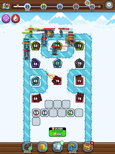 Merge Kingdoms - Tower Defense apkpoly screenshots 16