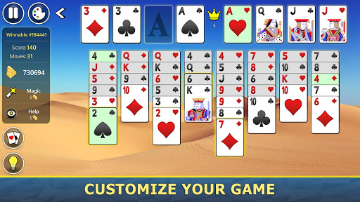 FreeCell Solitaire Mobile 2.0.7 screenshots 8