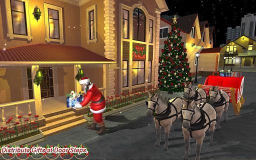 Christmas Flying Santa Gift Delivery apkdebit screenshots 1