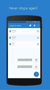 Image to Word - Picture Scanner with OCR 3.0.19