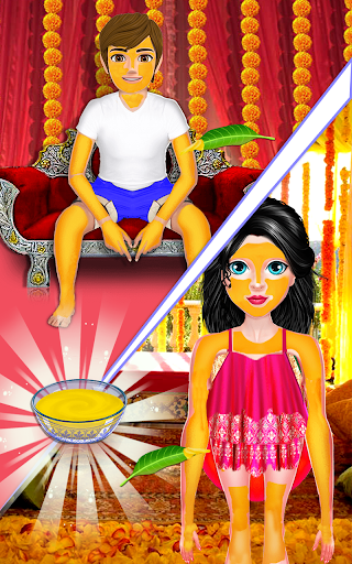 Indian Bride Stylist Dressup & Beauty Makeup Game screenshots 17