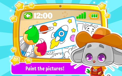 Babyphone & tablet - baby learning games, drawing 2.3.6 screenshots 14