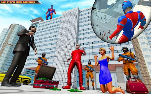 Flying Robot Superhero: Rescue City Survival Games 1.22 Screenshots 4